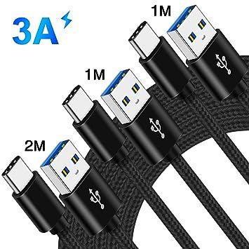 Cable Cargador USB Carga Rapida para Movil Xiaomi Mi A2 A3 ...