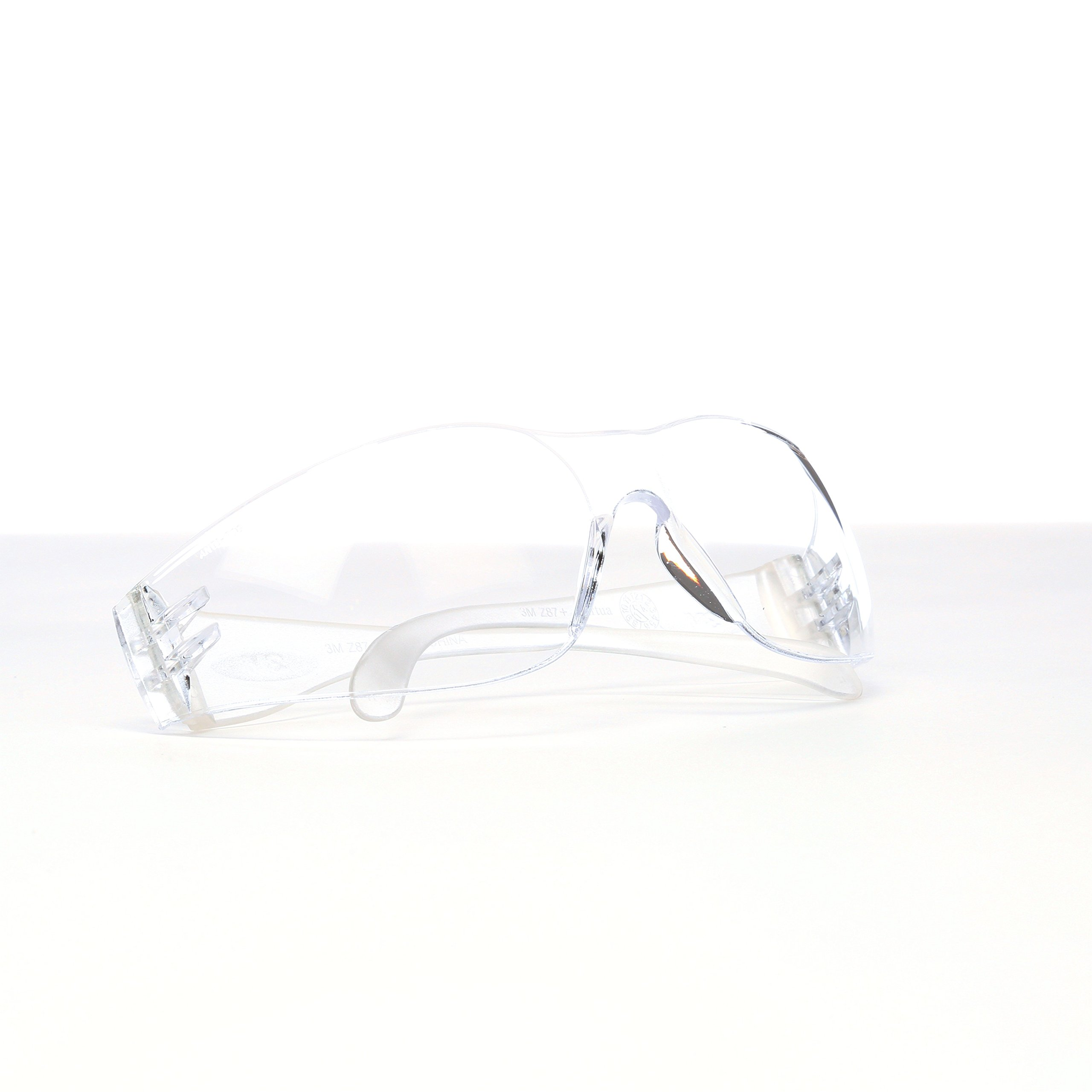 3M Virtua Protective Eyewear, 11329-00000-20 Clear Anti-Fog Lens, Clear Temple (Pack of 20) by 3M Personal Protective Equipment (Image #2)