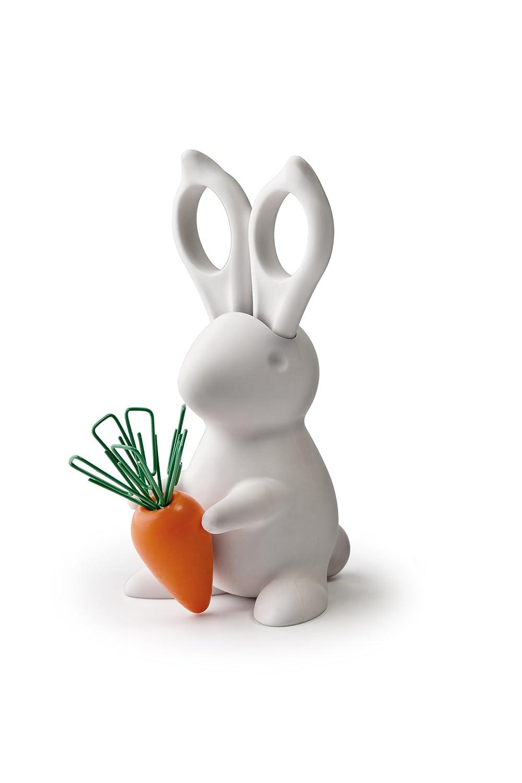 amazon com bunny desk organiser scissors and paper clips holder