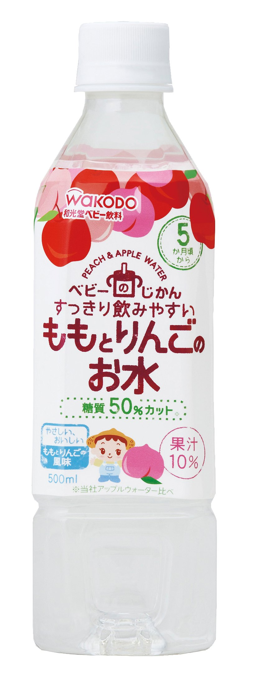 500mlX24 this your water undersecretary peach and apple of baby by Wakodo Co., Ltd.
