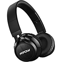 Mpow Wireless Bluetooth Headphones On Ear, Wireless Headset Foldable with Mic, Wired and Wireless Headphones for Cell Phone/TV/ PC