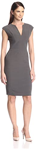 SOCIETY NEW YORK Women's V-Neck Dress