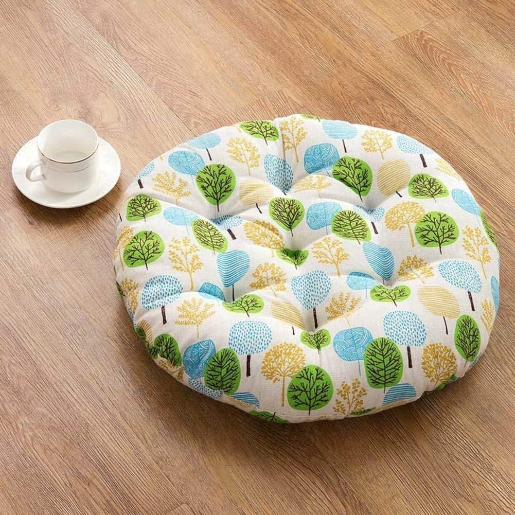 HhGold Tatami Cushions, Cushion Circular Las Espejos Grandes para Las Circular sillas de Oficina Asiento de mármol Grueso-Tiene 45X45Cm (18X18Cm) (Color : -, tamaño : -) 207475