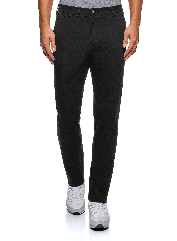 oodji Ultra Uomo Pantaloni Basic Slim Fit