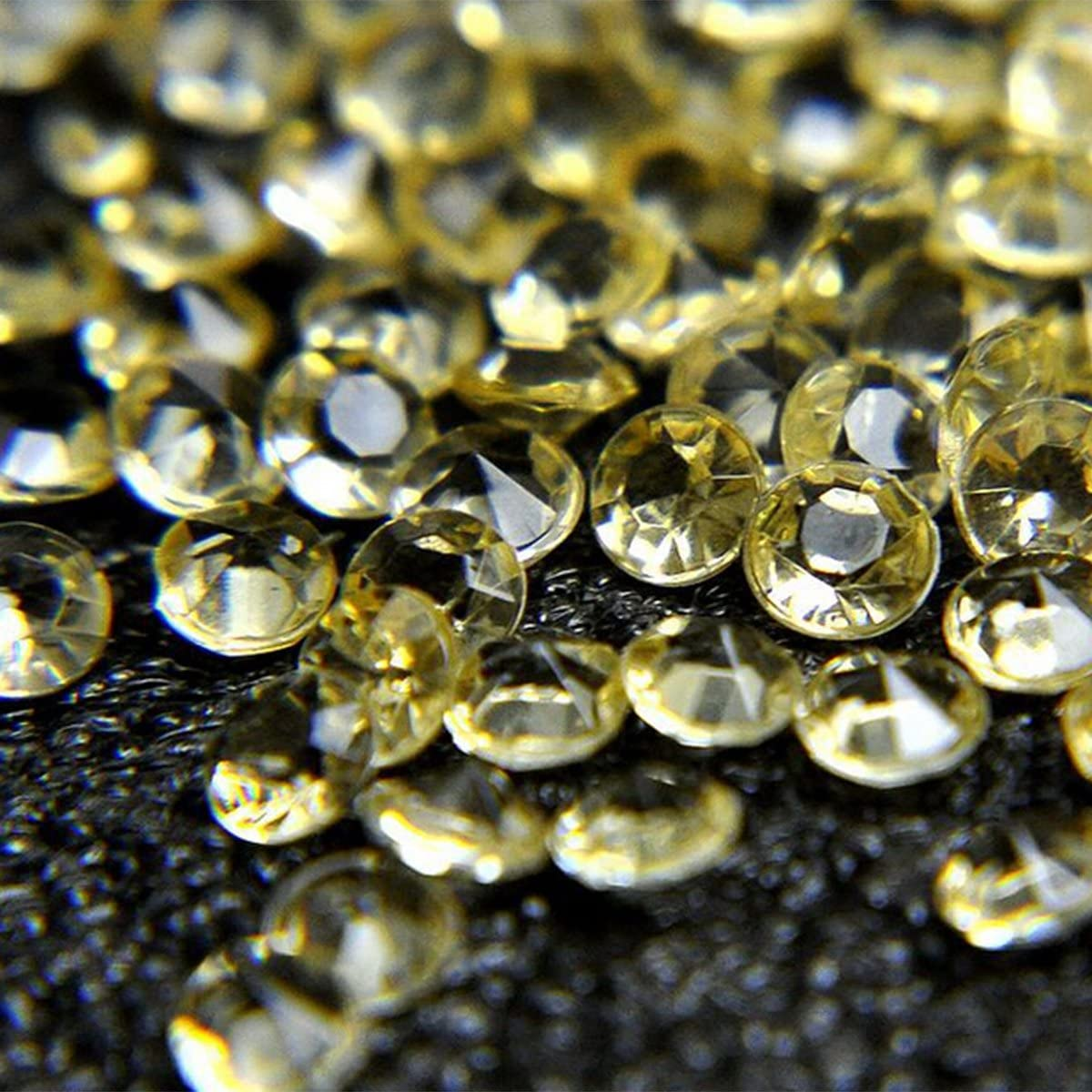 regalo di San Valentino diamanti in acrilico Evilandat Dark green dimensione 4,5/mm Acrilico forniture di nozze confezione da 5.000 pezzi cristalli in plastica multicolore