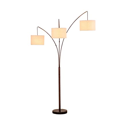 Brightech trilage modern led arc floor lamp with marble base 3 brightech trilage modern led arc floor lamp with marble base 3 hanging lights aloadofball Images