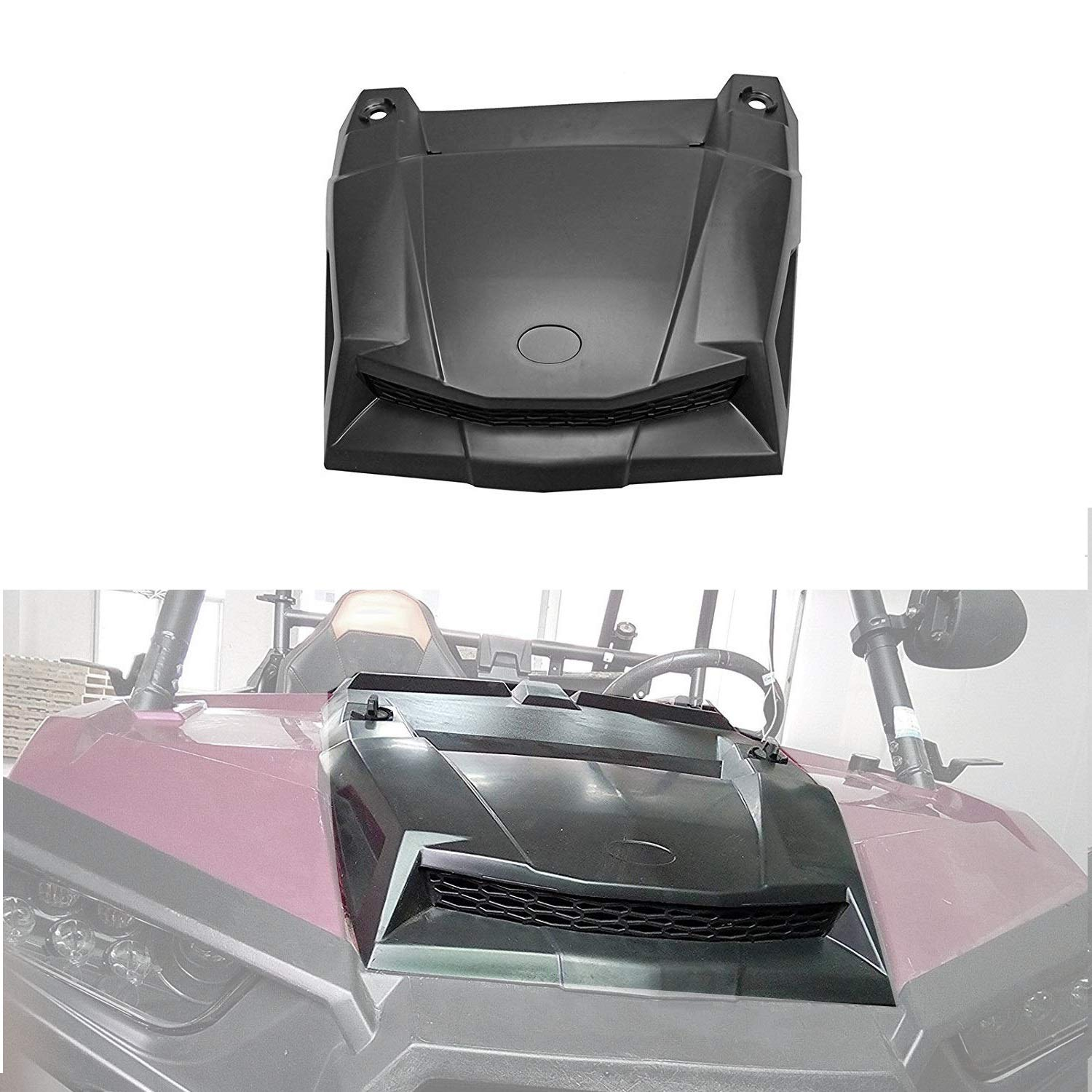 yjracing Turbo Hood Scoop Air Intake Fit for 2014-2018 Polaris RZR S XP 900 4 1000 2881467