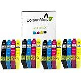 16 Colour Direct Compatible Cartouche D'encres Pour Epson WorkPource WF-3620DWF WF-3640DTWF WF-7110DTW WF-7610DWF WF-7620DTWF