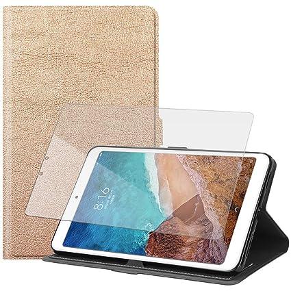 huge selection of c5f03 f6b51 Amazon.com: Torubia Xiaomi Mi Pad 4 PU Case Flip Cover Durable Case ...