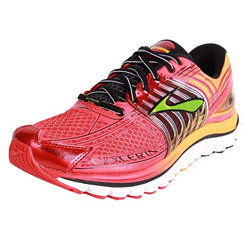5c59d012988 Brooks - Glycerin 12 men s running shoes (orange red) - EU 47