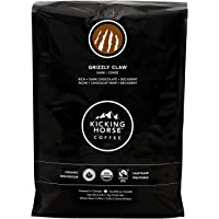 Kicking Horse Coffee, Grizzly Claw, Dark Roast, Whole Bean, 1 kg - Certified Organic, Fairtrade, Kosher Coffee