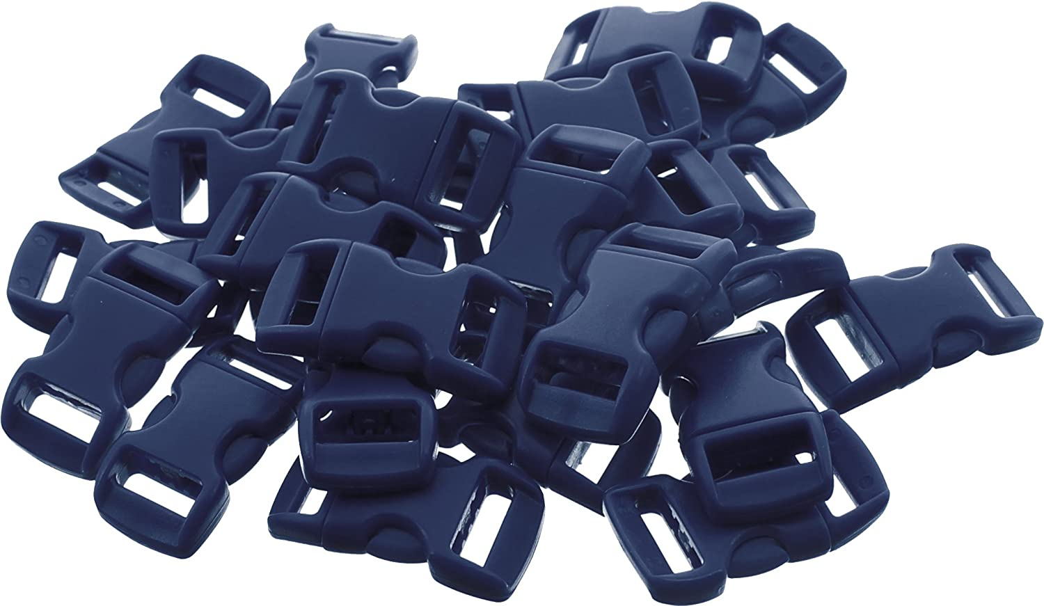 50 - 5/8 Economy Contoured Side Release Plastic Buckles China