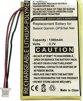Batería de Repuesto para GARMIN Nuvi 700