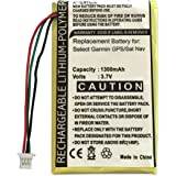 Replacement Garmin Rechargeable Battery for Nuvi 1400, 1440, 1450, 1490, 1490T, 1690, 1690T, 200, 200w, 205, 205T, 205W, 250, 205WT, 252, 255, 255T, 255W, 255WT, 252w, 260, 260w, 260WT, 270, 265WT, 465, 465T, 710, 710T, 750, 750T, 755, 755T, 760, 760T, 765, 765T, 770T, 775, 780, 780T, 785T Sat Nav / GPS etc