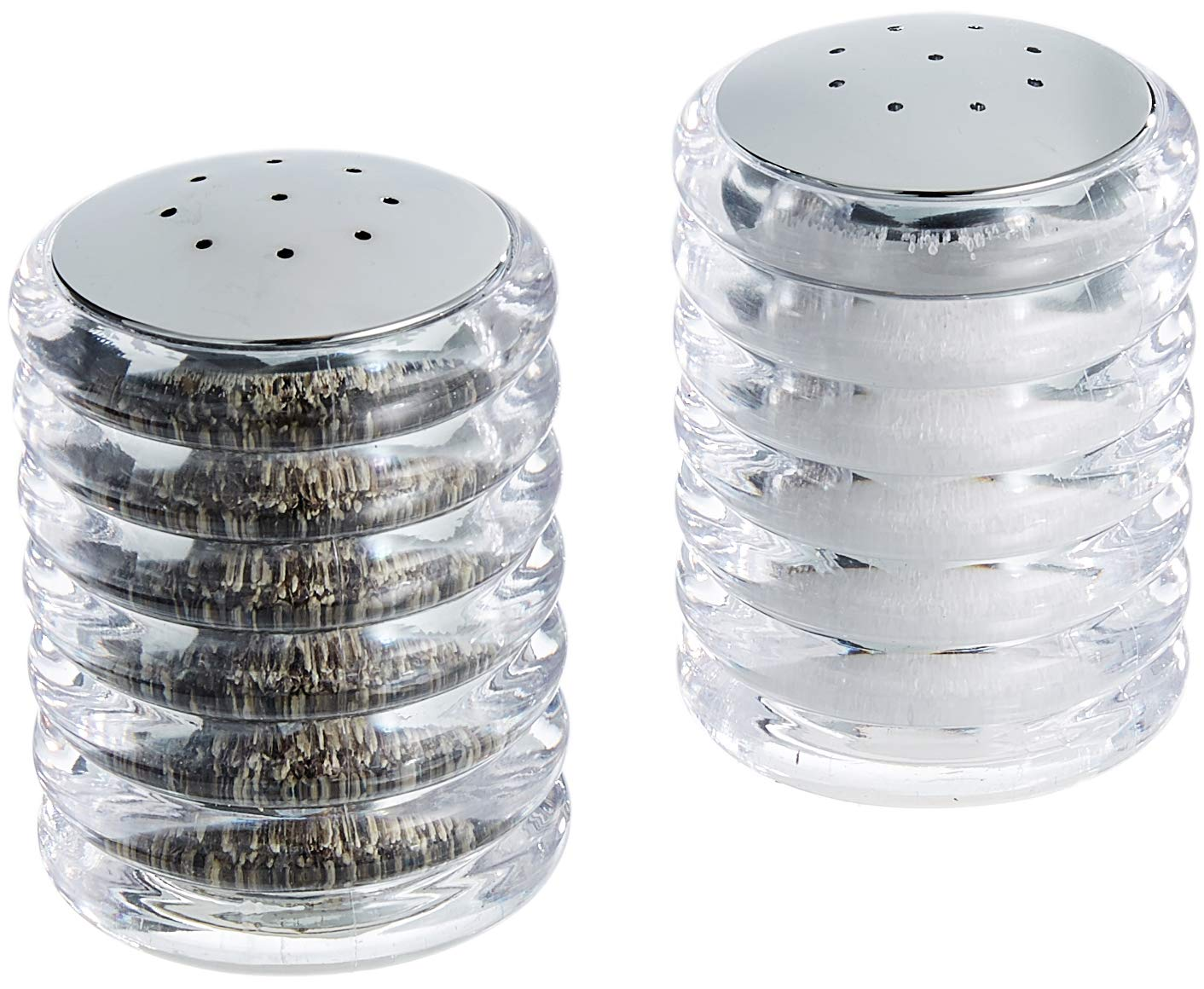 Cole & Mason Beehive Acrylic Salt and Pepper Shaker Set, Ceramic, 10 x 5 x 7 cm DKB Household Uk H820950 Shakers