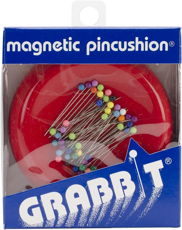 Grabbit Magnetic Blue Feather Pincushion