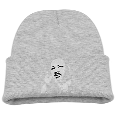 2ce5ae68646 Amazon.com  Boys   Girls Beanie Hat Martin Luther King Skull Cap In ...