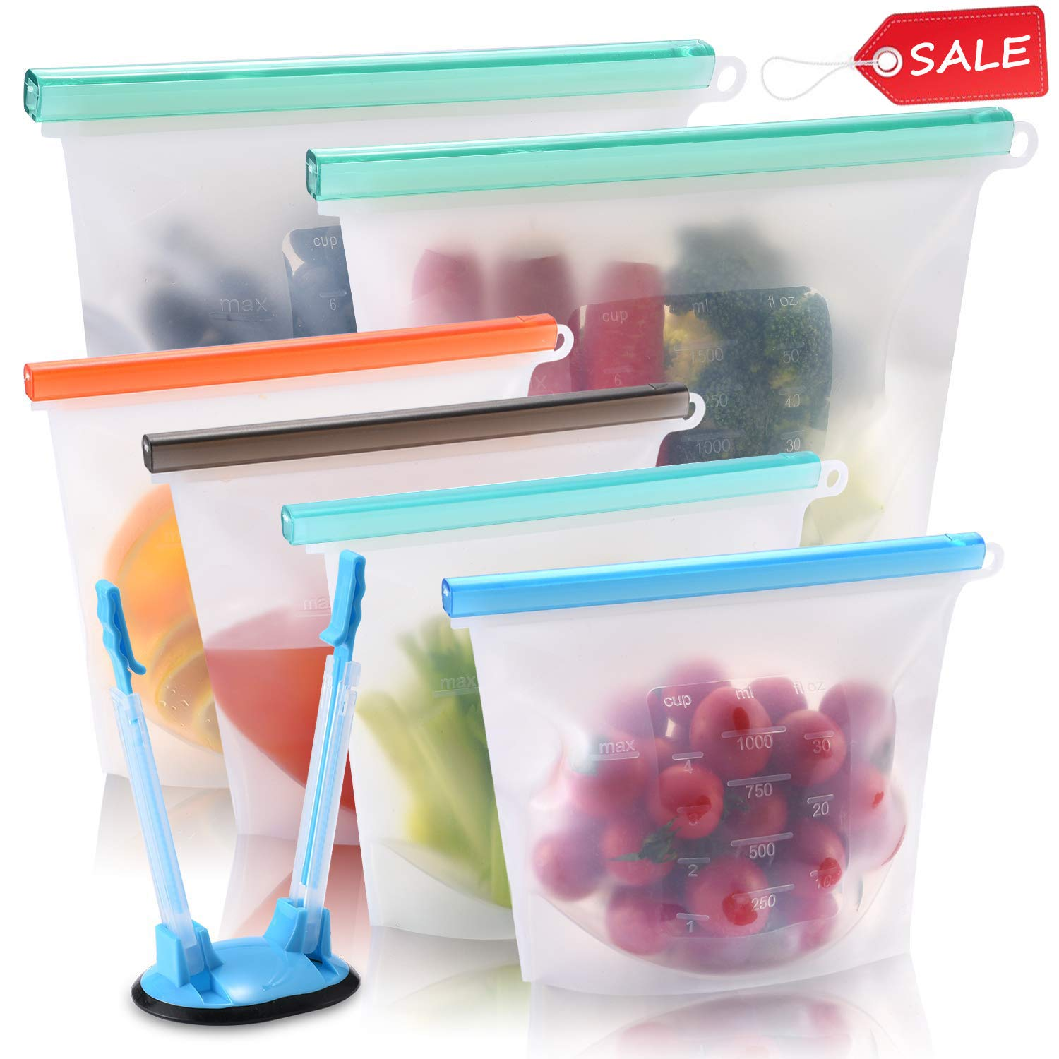 Perfect for freezer foods!