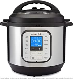 Instant Pot® Duo™ Nova™ 8-Quart 7-in-1, One-Touch Multi-Use Programmable Pressure Cooker, Slow Cooker, Rice Cooker, Steamer, Sauté, Yogurt Maker and Warmer with New Easy Seal Lid