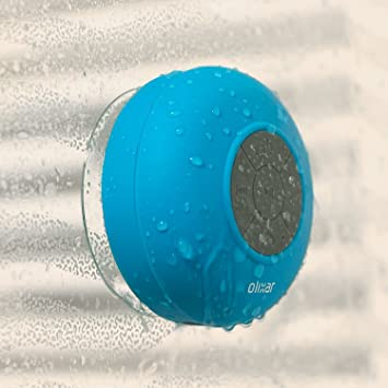 Powstro Mini Portable Subwoofer Shower Bathroom Waterproof Wireless  Bluetooth Speaker Built-in Mic Handsfree Call