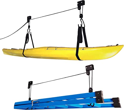 Universal Wall/Ceiling Storage Rack for Kayak Paddleboard Canoe Picture