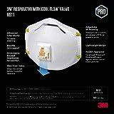 3M 8511 Respirator, N95, Cool Flow Valve