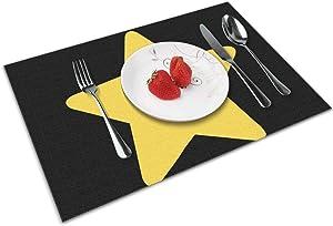 Atsh Stevens Universe Home Brilliant Set of 4 Placemats Heat Resistant Dining Table Place Mats Kitchen Table Mats