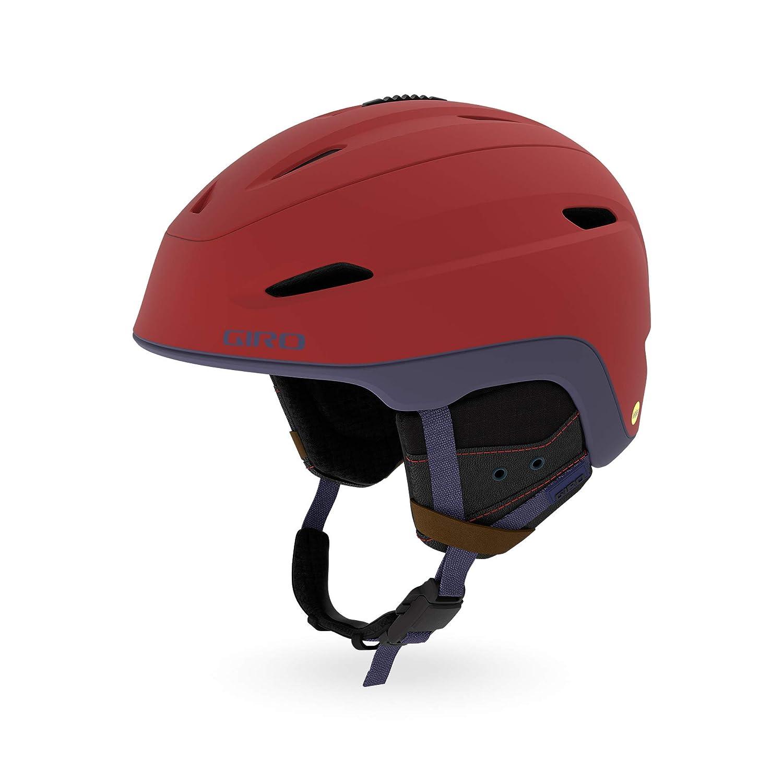 [ジロ] メンズ ZONE MIPS ゾーン ミップス スノーボードヘルメット Matte Dark 赤/Midnight Sierra 70937  Medium