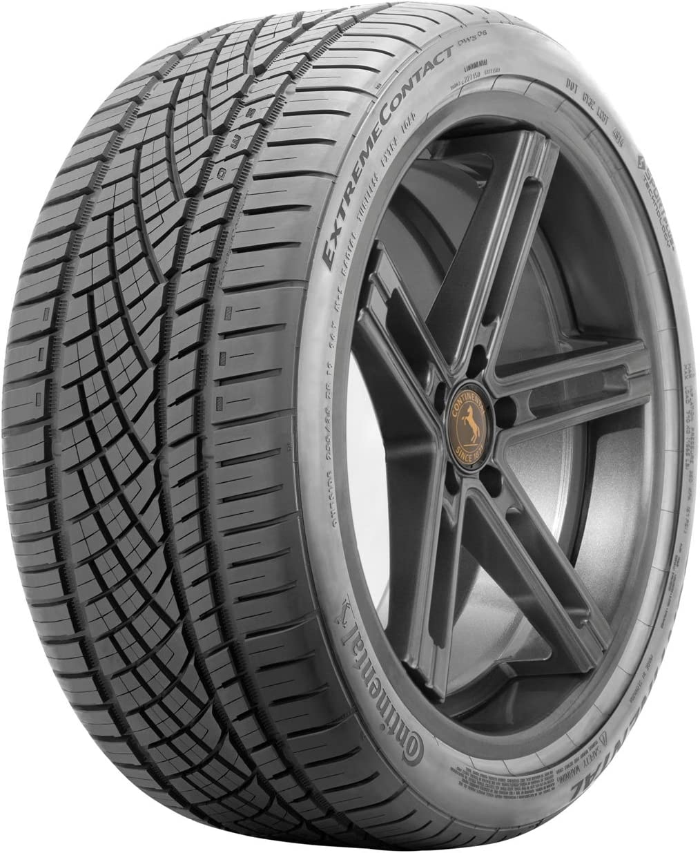 225//40ZR19 93Y Continental Extreme Contact DWS06 All-Season Radial Tire