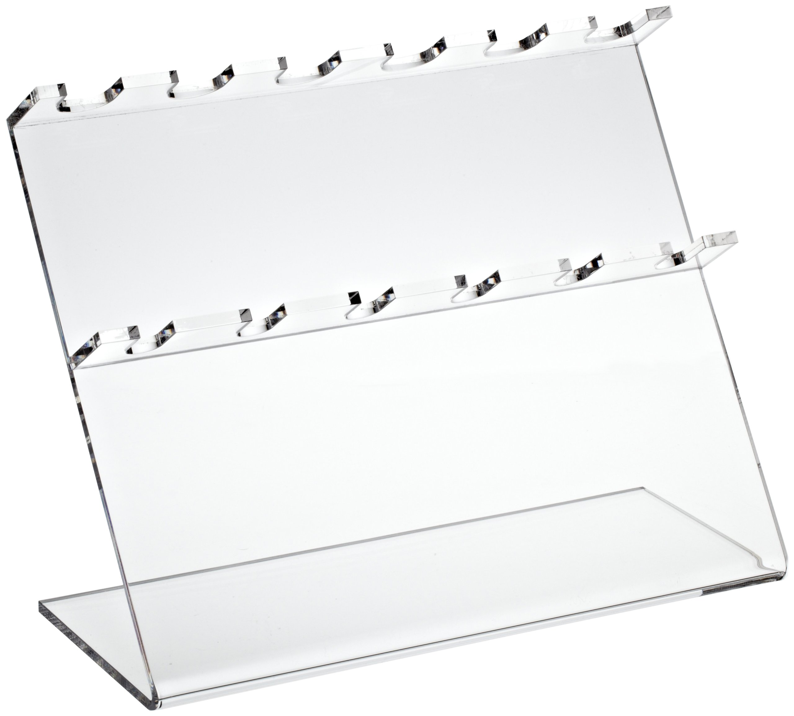 Bel-Art Pipettor Stand; 6 Places, 12 x 5 x 9½ in, Acrylic (F18961-0060)