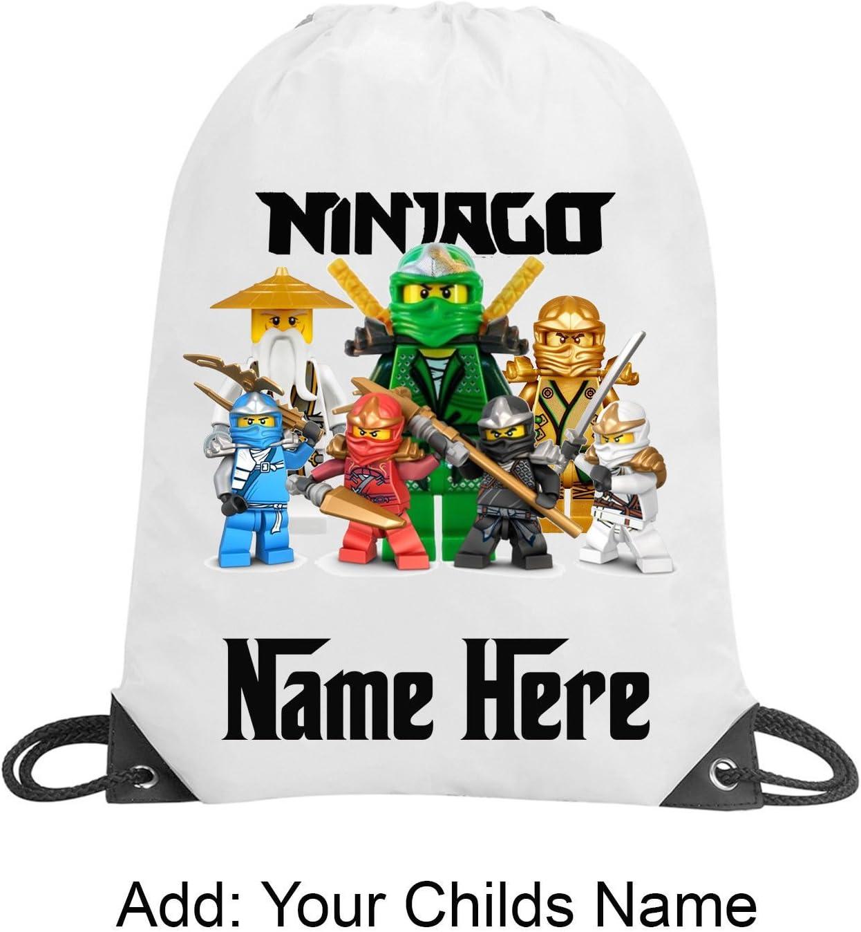 Ninjago Sac /à cordon personnalis/é unisexe
