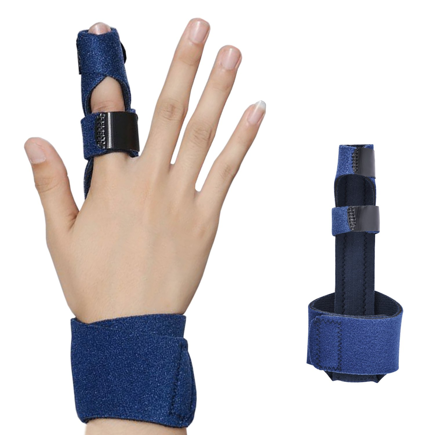 Finger Splint - Corpower Finger Extension Splint for Trigger Finger, Mallet Finger, Finger Knuckle Immobilization, Finger Fractures, Pain Relief from Stenosing Tenosynovitis - Finger Brace for Trigger