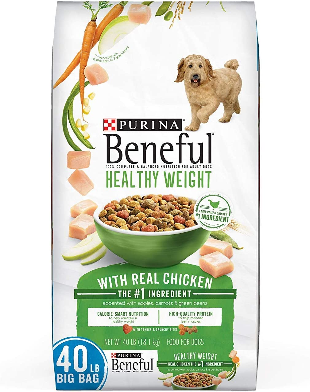 Purina Beneful Healthy Weight with Real Chicken Dry Dog Food (40 lb. Bag)