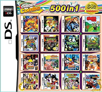 KUAILE 500 en 1 Tarjeta de Consola de Video Juego Cartucho para ...