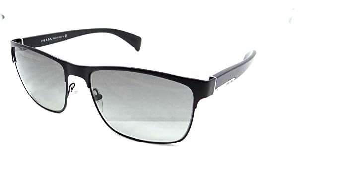 86c562b78f1ae ... eye heart shades prada a3663 6311c  get prada sunglasses spr 51o fad  3m1 58x17 matte black grey gradient made in italy ad7cc