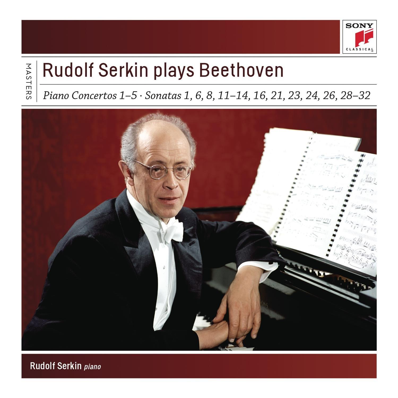 Rudolf Serkin Plays Beethoven Concer Tos, Sonatas & Variations Sony Clas Sical Masters