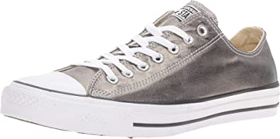 ed5140281145 Converse Mens CTAS OX Metallic Herbal White Black Skateboarding Shoe  153182F (US 12