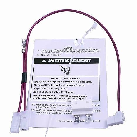 Protac 675813 - Enlace de fusible térmico para lavavajillas ...