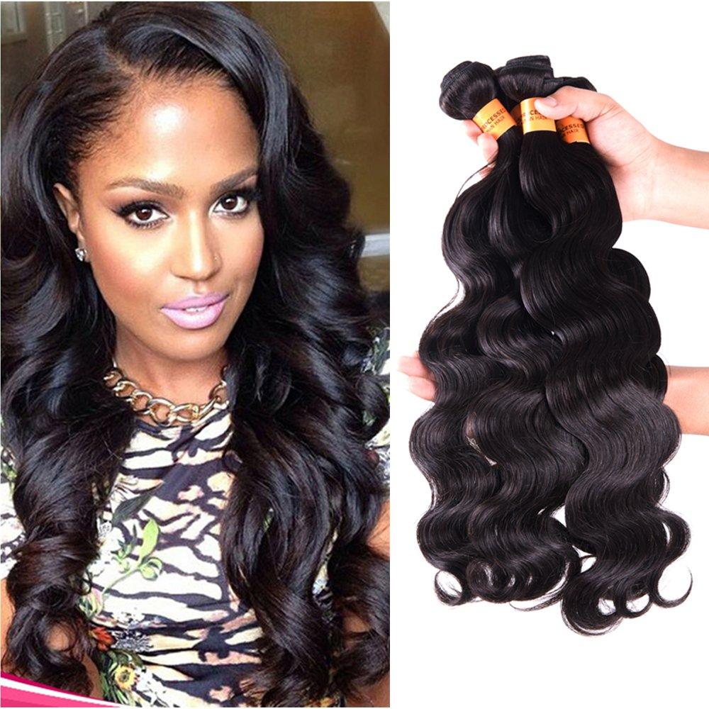 Amazon Cocos Hair Virgin Brazilian Hair Body Wave 3 Bundles