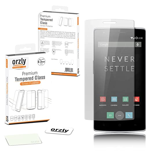 499 opinioni per Orzly®- OnePlus ONE Premium vetro