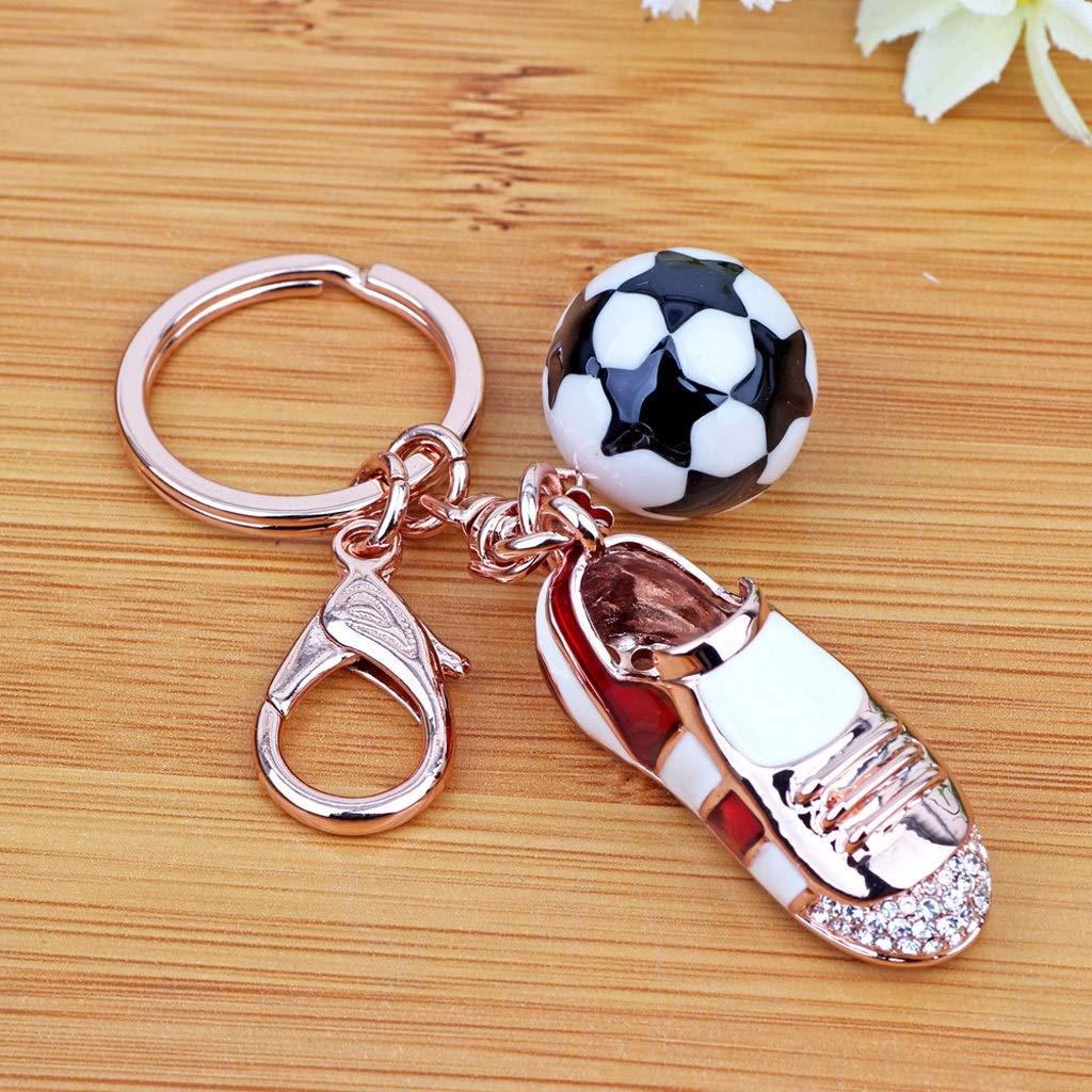 Creative Car Keychain Female Soccer shoes Bag Pendant Korean Fashion Couple Key Chain