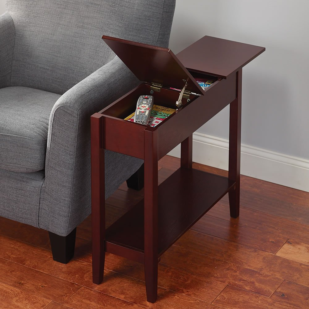 The Hidden Storage Side Table Tradepost TP-0747