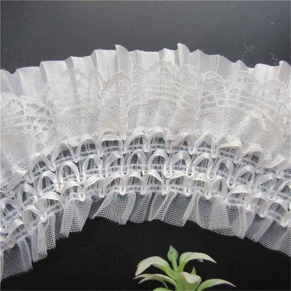 couche plissée organza dentelle garniture ruban mariage applique