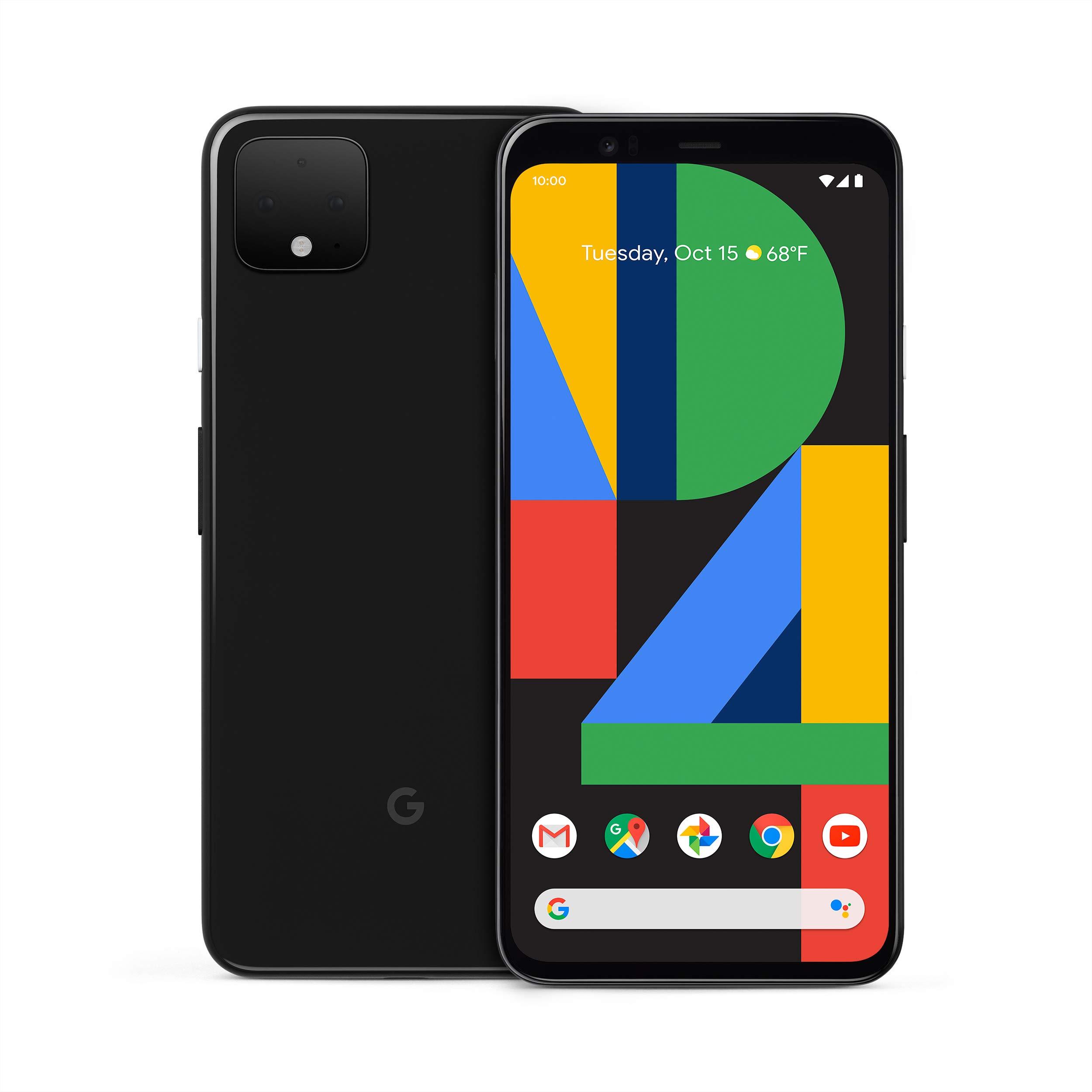 Google Pixel 4 XL - Just Black - 64GB - Desbloqueado