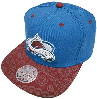 Mitchell   Ness Paisley Colorado Avalanche EU138 OSFA Snapback Cap Kappe  Basecap cfd17cba15e0