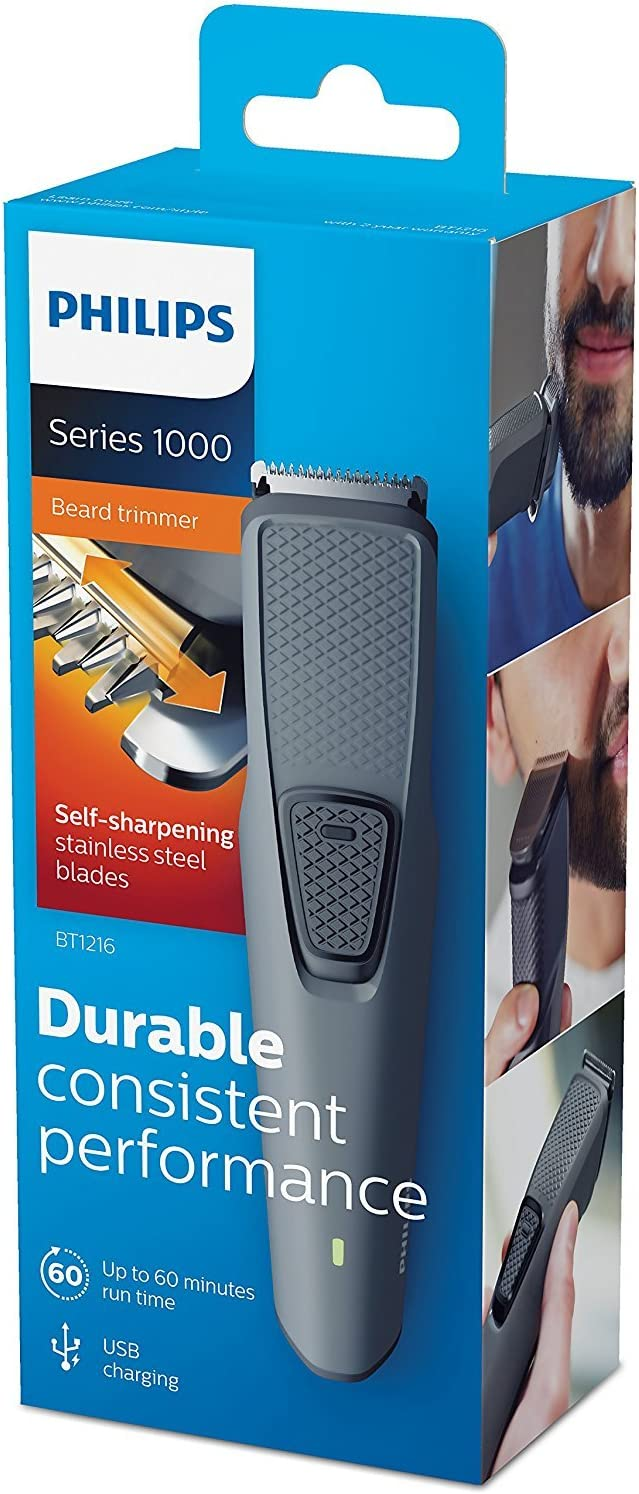 Philips BT1216/15 Series 1000 Barbero recargable USB: Amazon.es ...
