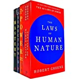 Robert Greene Collection 4 Books Set (The Art of Seduction, Mastery, The Concise 48 Laws of Power, The Laws of Human Nature)