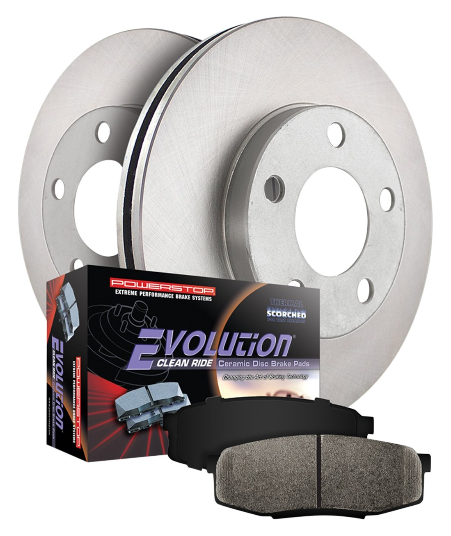 Power Stop KOE6231 Front Stock Replacement Brake Kit