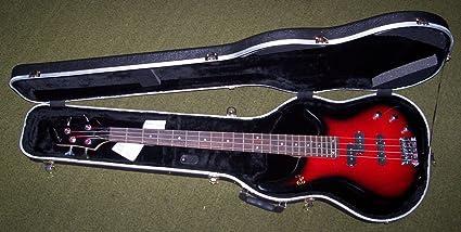 ROLING S estuche funda rígida moldeada de ABS X bajo eléctrico Bass: Amazon.es: Instrumentos musicales