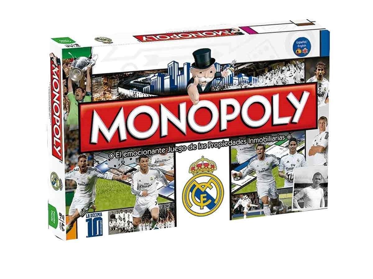 Eleven Force Spiel Monopoly Real Madrid CF, Mehrfarbig (10186)
